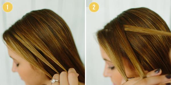 DIY Hair Tutorial Waterfall Braid