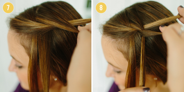 DIY Hair Tutorial: Waterfall Braid - Charm City Wed