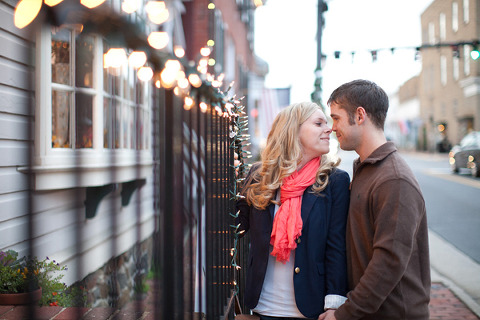 Winter Engagement by Kate Triano Photography