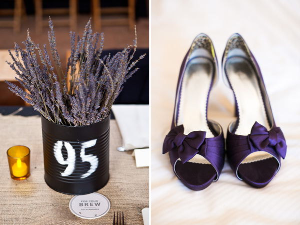 Baltimore Ravens & Purple Wedding Details by tPoz Photography