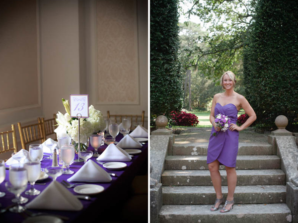 Baltimore Ravens & Purple Wedding Details by Marcella Treybig Photography