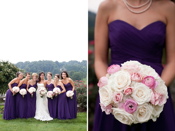 Inspiration: Baltimore Ravens & Purple Wedding Details by Jamie D Photography