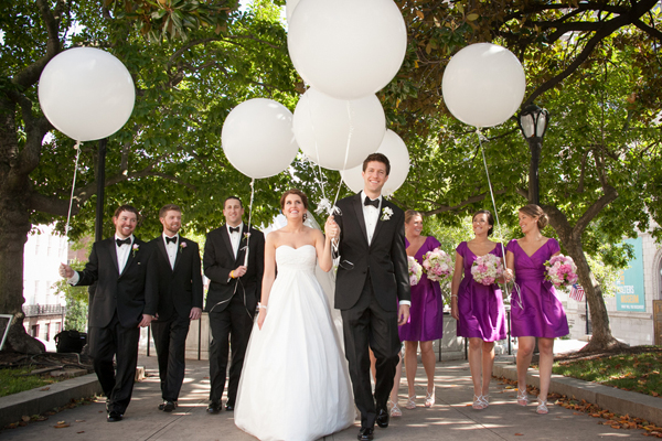 George Peabody Library Wedding by Artful Weddings