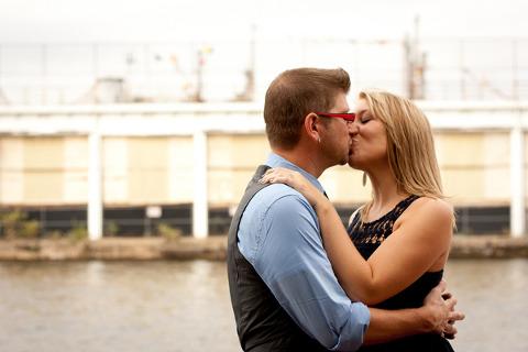 Inner Harbor Engagement by Nelli Jones Photography