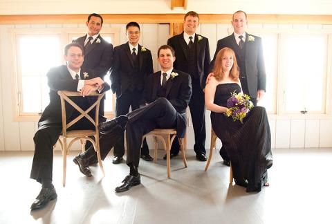 Inspiration: Opposite Genders in Bridal Parties