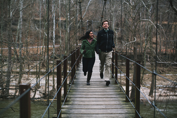 Patapsco Valley State Park Engagement by Val & Sarah