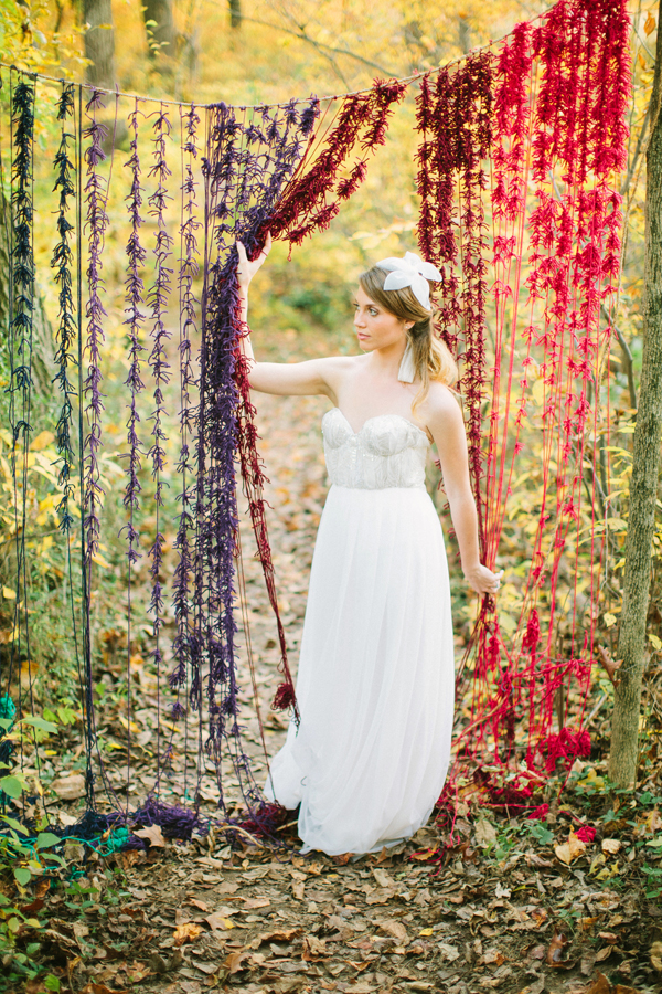 fall bohemian inspired inspiration ceremony backdrop backdrops decor events sarah park weddings outdoor boho shoes diy nature booth charmcitywed party