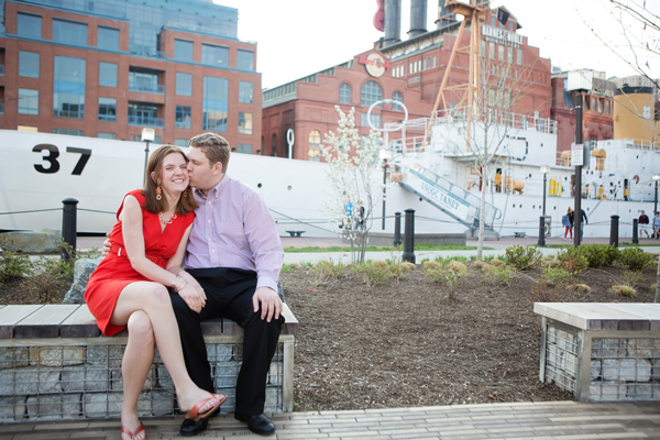 Baltimore Engagement by Heather Bee Photography