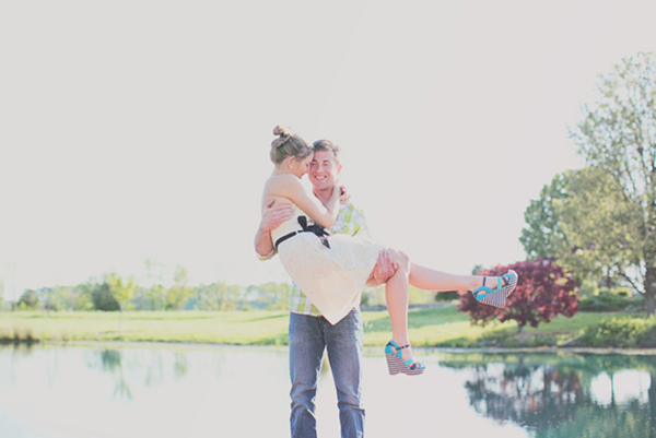 Maryland Farm Engagement by Jacquelyne Mae Photography