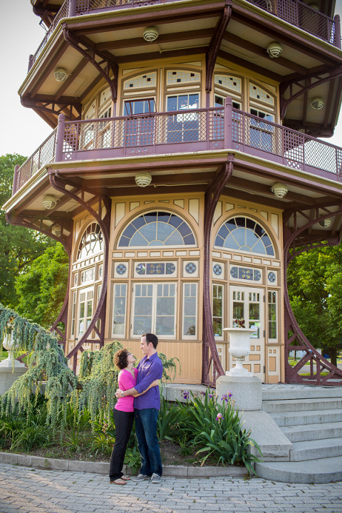Patterson Park Engagement by Photography by Brea