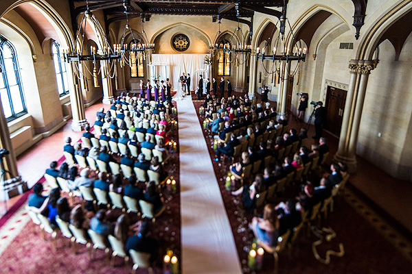 Grand Historic Venue Wedding by Merkle Photography