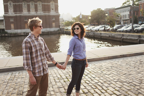 Fells Point Engagement by Luke Eshleman Photography