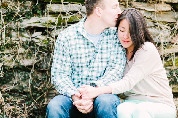 Woodlawn Manor Engagement by Julie Lim Photography