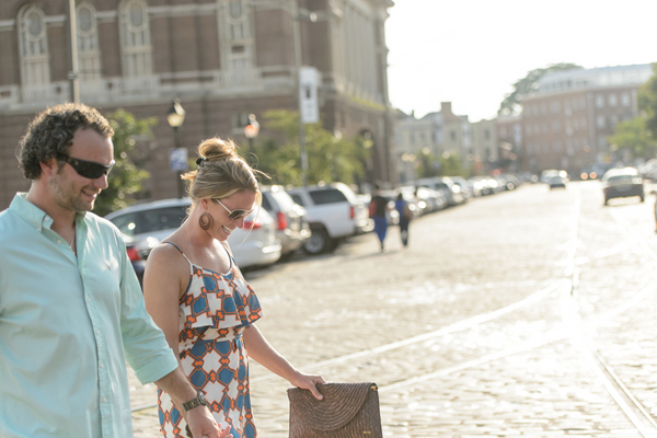 Baltimore Proposal by Ashley Michelle Photography