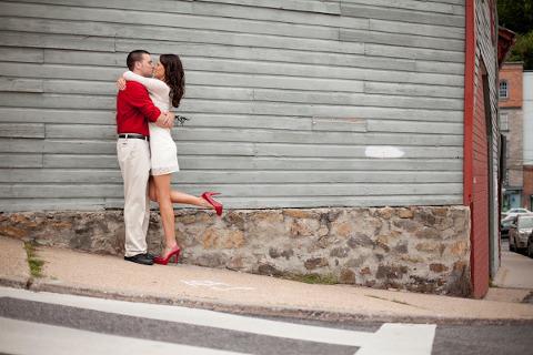 Ellicott City Engagement by J Fannon Photography