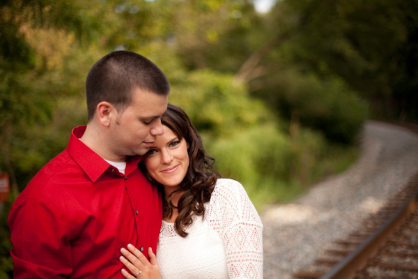 Ellicott City Engagement by J Fannon Photography