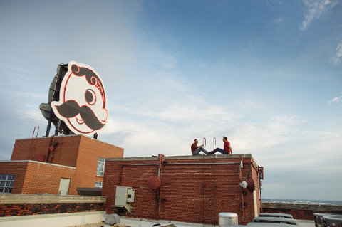 Natty Boh Tower Engagement by Marcella Treybig