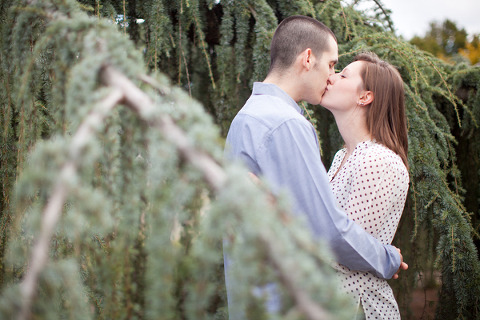 Towson University Engagement by Katie Nesbitt Photography
