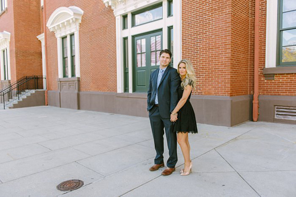 Baltimore City Engagement by Brittany DeFrehn Photography