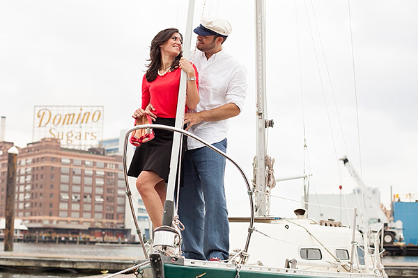 Popeye Inspired Engagement by Anne Herbert Photography