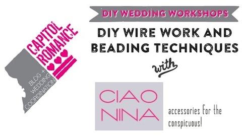 Ciao Nina Workshop Header