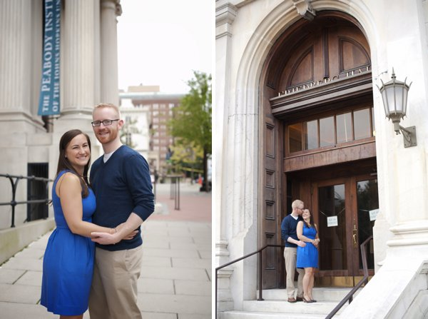 Mt. Vernon Engagement Session   ||  Magnolia Street Photography  ||  Charm City Wed   || www.charmcitywed.com