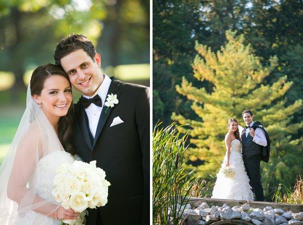Suburban Club Maryland bride & groom
