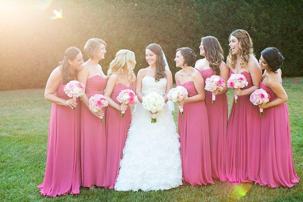 Suburban Club Maryland bridesmaids