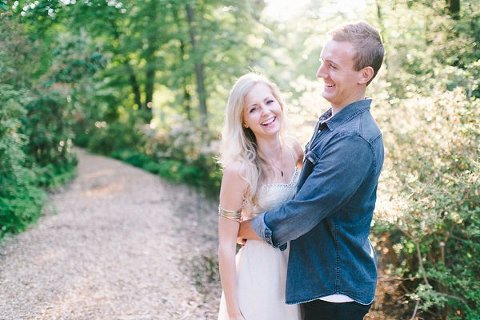 Brookside Gardens Engagement Photos  ||  Elizabeth Fogarty Photography  || Charm City Wed  ||  www.charmcitywed.com