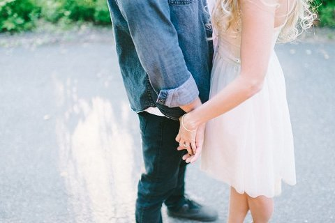 Enchanting Engagement Photos  ||  Elizabeth Fogarty Photography  || Charm City Wed  ||  www.charmcitywed.com