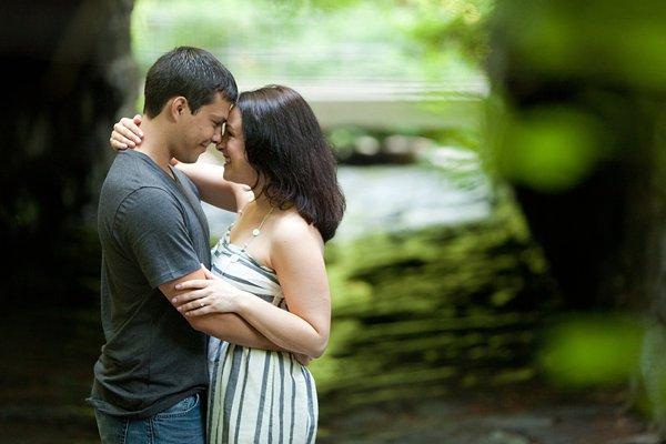 Patapsco State Park Engagement Photos  ||  Liz+Ryan  ||  Charm City Wed  ||   www.charmcitywed.com