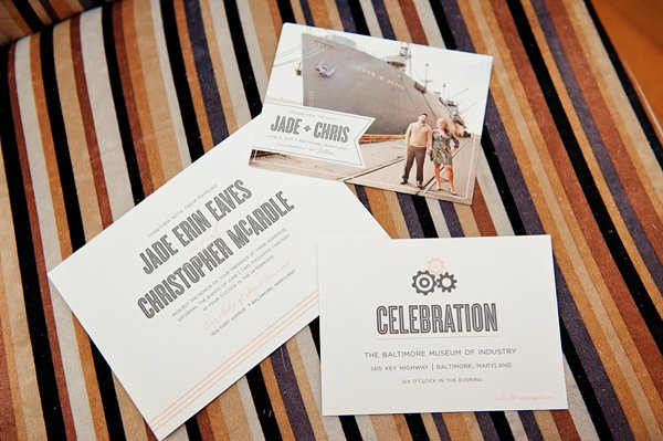 Just Ink On Paper Invitations  ||  Kathleen Hertel Photography  ||   Charm City Wed   ||   www.charmcitywed.com