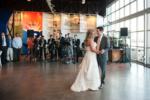 Baltimore Museum of Industry Wedding  ||  Kathleen Hertel Photography  ||   Charm City Wed   ||   www.charmcitywed.com
