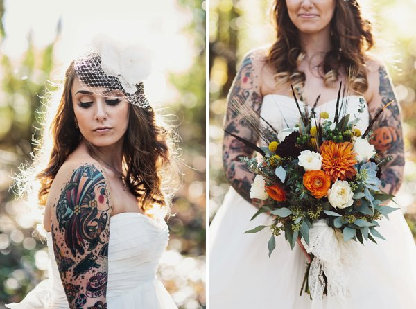 Tattooed Bride  ||   Sarah Culver Photography  ||   Charm City Wed   ||   www.charmcitywed.com