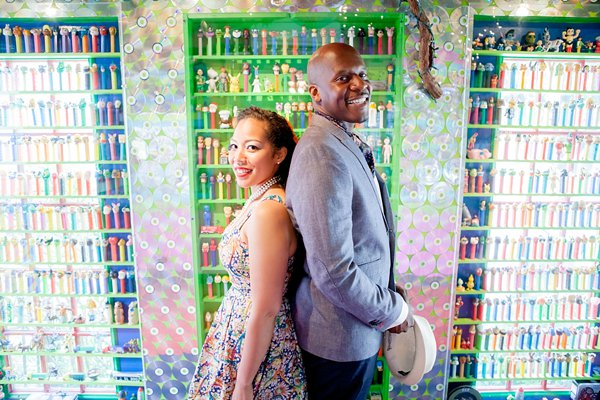 Remington + Rawlings Conservatory Engagement Photos  ||   Erika Layne Photography  ||    Charm City Wed  ||   www.charmcitywed.com