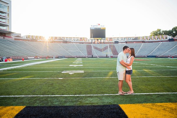 University of Maryland College Park Engagement Photos  ||  Photography by Brea  ||  Charm City Wed  ||   www.charmcitywed.com