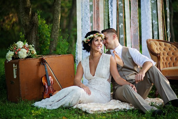 Blissfully Bohemian Wedding Style Shoot ||  Ashton Kelley Photography  ||   Charm City Wed  ||  www.charmcitywed.com
