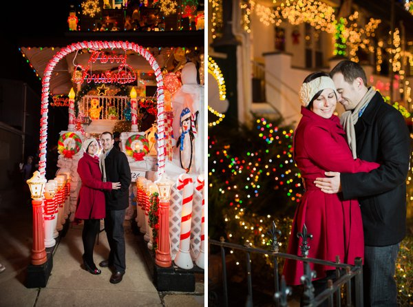 Hampden Holiday Engagement Session  ||  Photography by Brea   ||  Charm City Wed  ||   www.charmcitywed.com