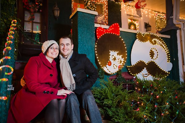 34th Street Hampden Holiday Engagement Session  ||  Photography by Brea   ||  Charm City Wed  ||   www.charmcitywed.com