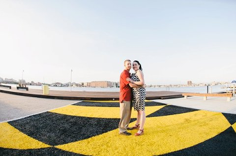 A Very Baltimorean Engagement Session  ||  Megan Evans Photography  ||  Charm City Wed  ||  www.charmcitywed.com