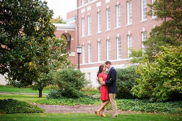 Johns Hopkins University Engagement Session  ||  Dana Cubbage Weddings  ||  www.charmcitywed.com