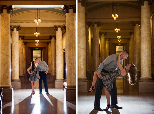 A Grand Baltimore Engagement Session  ||   Kathleen Hertel Photography  ||  Charm City Wed  ||  www.charmcitywed.com