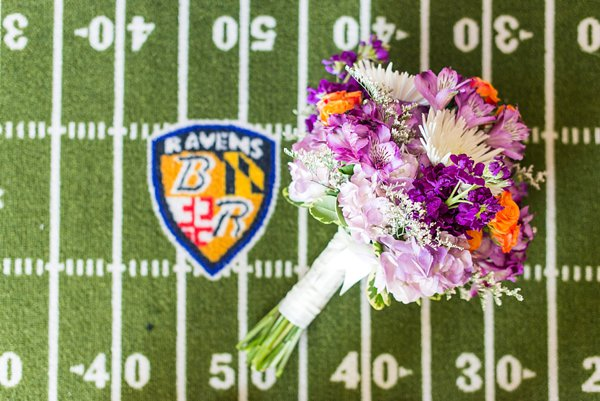 Baltimore Ravens Weddings || Lauren C Photo  ||  Charm City Wed  ||  www.charmcitywed.com