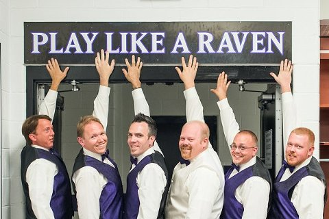 Baltimore Ravens Weddings || Lauren C Photo  ||  Charm City Wed  ||  www.charmcitywed.com