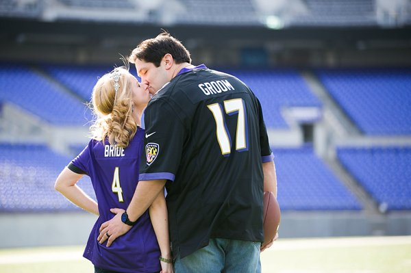 Baltimore Ravens Weddings ||  tPoz Photo  ||  Charm City Wed  ||  www.charmcitywed.com