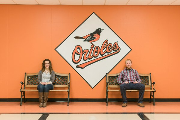 Oriole Park Engagement Session  ||  Joy Michelle Photography  ||  Charm City Wed  ||  www.charmcitywed.com