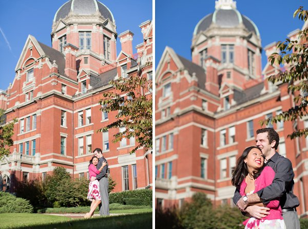 Johns Hopkins Engagement Photos      Laura's Focus Photography      Charm City Wed      www.charmcitywed.com
