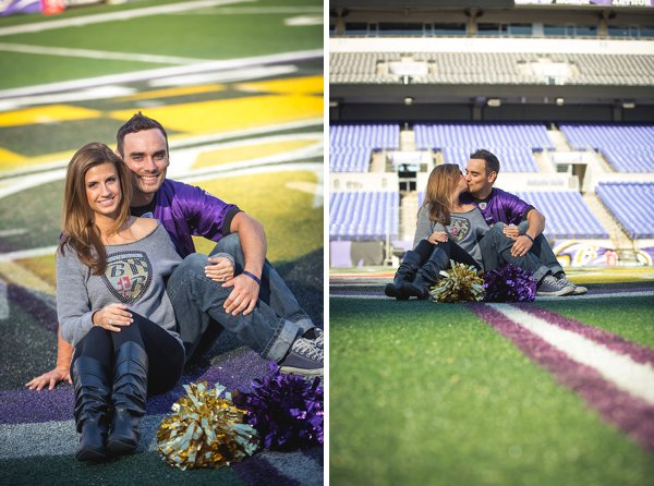 Ravens Engagement Session  ||  Richard Barlow Photography  ||  Charm City Wed  ||  www.charmcitywed.com