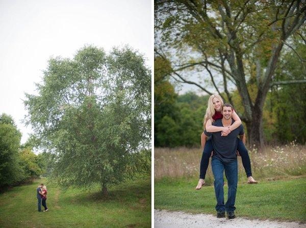 Rockburn Branch Park Engagement Photos  ||  Meaghan Elliott Photography  ||  Charm City Wed  ||  www.charmcitywed.com