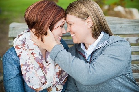 Same-sex engagement photos      Photography by Brea     Charm City Wed       www.charmcitywed.com